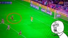 YouTube: Iván Rakitic perdió un gol frente al arco