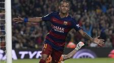 Barcelona venció 5-2 al Rayo Vallecano con 4 goles de Neymar