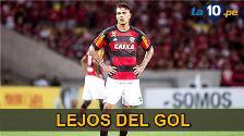 YouTube: Paolo Guerrero falló clara ocasión en derrota de Flamengo ante Inter