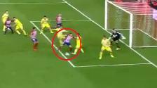 YouTube: Saúl Ñíguez marcó genial gol de taco para Atlético de Madrid