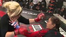 YouTube: la mamá que se atrevió a luchar en una jaula de la MMA