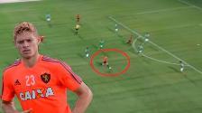 YouTube: Johnath Marlone marca un golazo con el Sport Recife