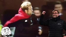 YouTube: Jürgen Klopp no se guardó nada y festejó gol del Liverpool a su estilo