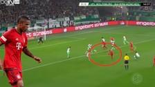 YouTube: Douglas Costa marcó un gol magnífico con el Bayern Munich
