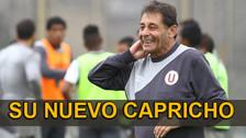 Universitario de Deportes: Roberto Chale quiere a Antonio Meza Cuadra