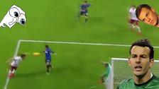 YouTube: increíble Samir Handanovic para atajar cuatro remates en una misma jugada