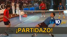 YouTube: el día que Lionel Messi se enfrentó a Diego Maradona en el fútbol-tenis