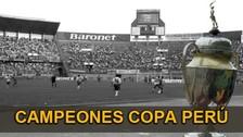 Conoce a los últimos 10 campeones de la Copa Perú