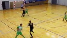YouTube: jugador de futsal hizo la jugada del año pero la terminó en pase gol
