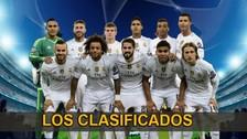 Champions League: Real Madrid, Manchester City y Zenit clasificados a los octavos de final
