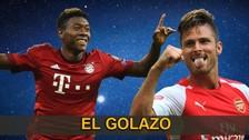 Champions League: ¿David Alaba o Olivier Giroud cuál es el mejor de la fecha?