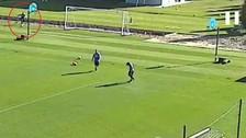 YouTube: Jeison Murrillo encestó balón con remate en entrenamiento del Inter