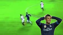 YouTube: Cristiano Ronaldo quiso golpear sin pelota a jugador del Sevilla