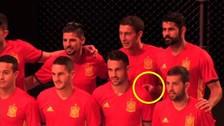 YouTube: Diego Costa dio un show aparte en la presentación de Selección de España