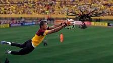 YouTube: Fernando Muslera capturó un 'drone' en las Eliminatorias