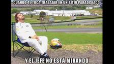 Memes se burlan de Fernando Alonso y su foto durmiendo en el GP Brasil 2015