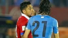 Uruguay vs. Chile: Edinson Cavani reveló qué le dijo Gonzalo Jara