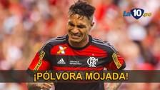 YouTube: Paolo Guerrero falló esta increíble situación de gol con Flamengo