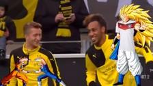 YouTube: Marco Reus se 'fusionó' con Pierre-Emerick Aubameyang