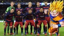 Facebook: Iván Rakitic del Barcelona se comparó con Gokú de Dragon Ball