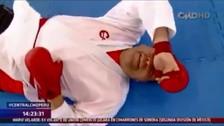 YouTube: campeona peruana de karate noqueó a periodista tras darle clase maestra