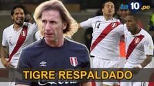 Selección Peruana: FPF reafirmó su respaldo a Ricardo Gareca