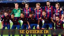 YouTube: jugador del Barcelona se hartó de Luis Enrique y se iría al Benfica
