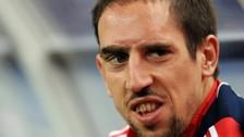 Bayer Munich: Ribery se volvió a lesionar después de una semana de su regreso