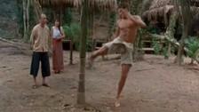 Facebook: peleador rompió árbol al estilo Jean-Claude Van Damme en Kickboxer