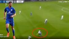 YouTube: Riyad Mahrez humilló a Eden Hazard con una huacha
