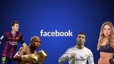 Facebook: los 10 futbolistas más influyentes del 2015 en esta red social