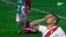 YouTube: terrible entrada de Juan Vargas sobre jugador del Sevilla