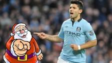 Premier League: jugadores del Manchester City visitaron niños por Navidad