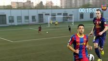YouTube: canteranos del Barcelona realizan un 'tiki taka' impresionante