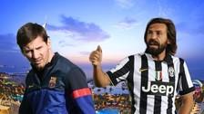 Instagram: Andrea Pirlo no aguantó y le pidió un selfie a Lionel Messi