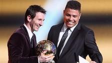 Ronaldo Nazario opinó sobre si Cristiano Ronaldo o Lionel Messi es el mejor