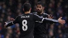 YouTube: Diego Costa y Oscar se pelearon en práctica del Chelsea