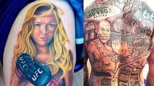Facebook: Ronda Rousey, Floyd Mayweather y otras figuras en los mejores tatuajes