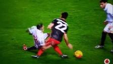 YouTube: jugador sufrió terrible lesión de rodilla en la Liga BBVA