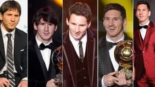 Balón de Oro: Lionel Messi asistió a la premiación con traje sobrio