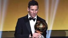 Balón de Oro 2015: Lionel Messi ganó su quinto premio a mejor futbolista