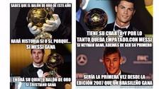Balón de Oro 2015: Lionel Messi y Cristiano Ronaldo son víctimas de los memes en la previa