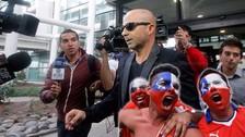 YouTube: Jorge Sampaoli recibió insultos a su llegada a Chile