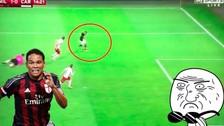 YouTube: Carlos Bacca marcó un impresionante gol de rabona en el Milan