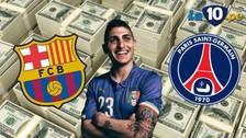 YouTube: Barcelona ya sabe cuánto debe pagar por Marco Verratti