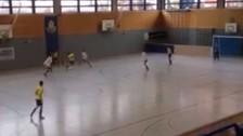 Facebook: equipo alemán de futsal hizo este increíble golazo