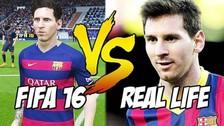 YouTube: las mejores jugadas del FIFA 16 hechas en la vida real