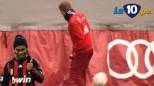 YouTube: Philipp Lahm demostró su calidad con este control de balón