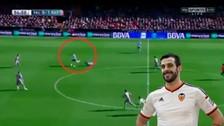 YouTube: Álvaro Negredo marcó un gol increíble ante Rayo Vallecano