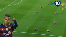 YouTube: Neymar se llevó a todos y dio un pase gol con el Barcelona